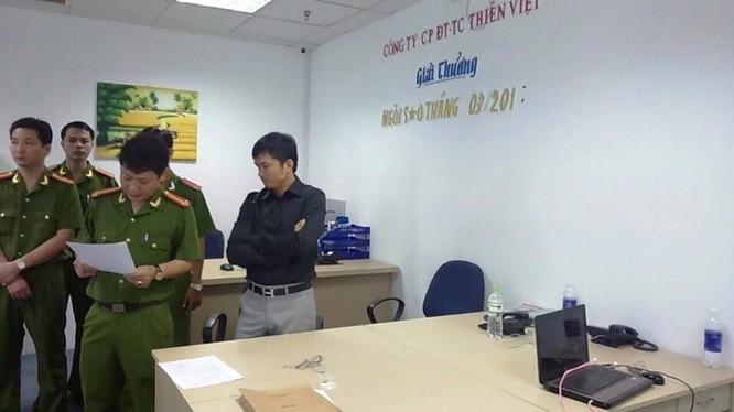 Khám xét công ty kinh doanh vàng tài khoản trái phép Thiên Việt ảnh 3