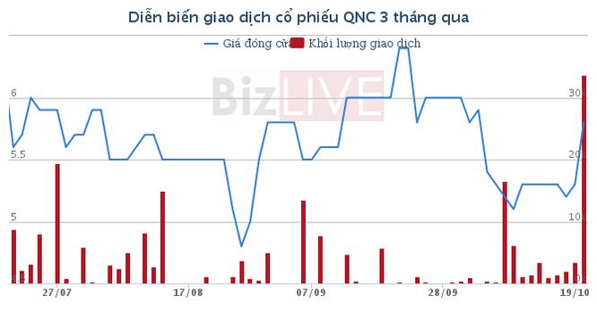 SCIC muốn thoái 3,3 triệu cổ phiếu QNC với giá cao gấp đôi hiện tại? ảnh 1