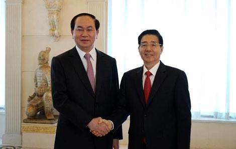 Bộ trưởng Công an Việt Nam, Trung Quốc hội đàm ảnh 1