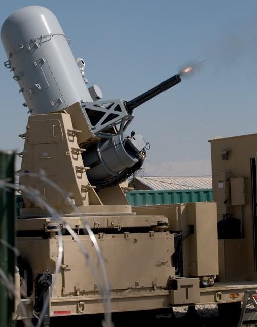 Xem súng 6 nòng Mỹ chống rocket Trung Quốc ở Afghanistan ảnh 1