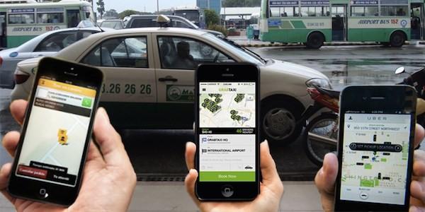 """Taxi giá rẻ nở rộ, tài xế taxi truyền thống """"than trời"""" ảnh 2"""