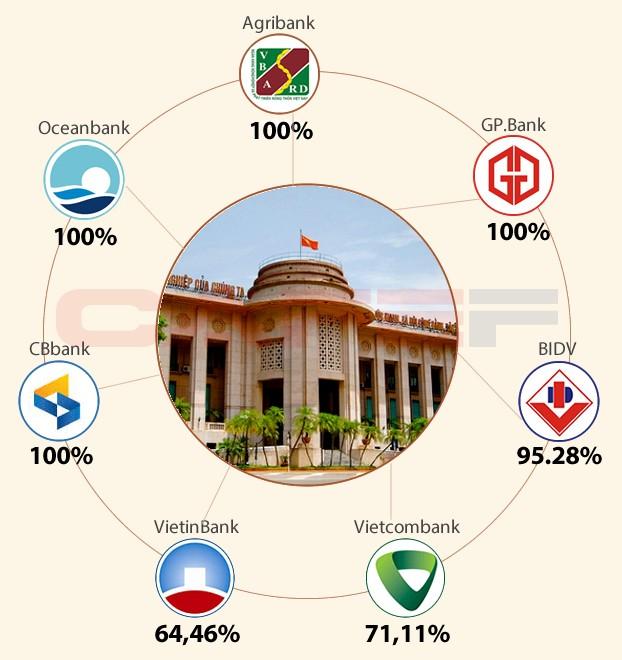 NHNN đang sở hữu hơn 1/3 tổng vốn điều lệ của các NHTM Việt Nam ảnh 2