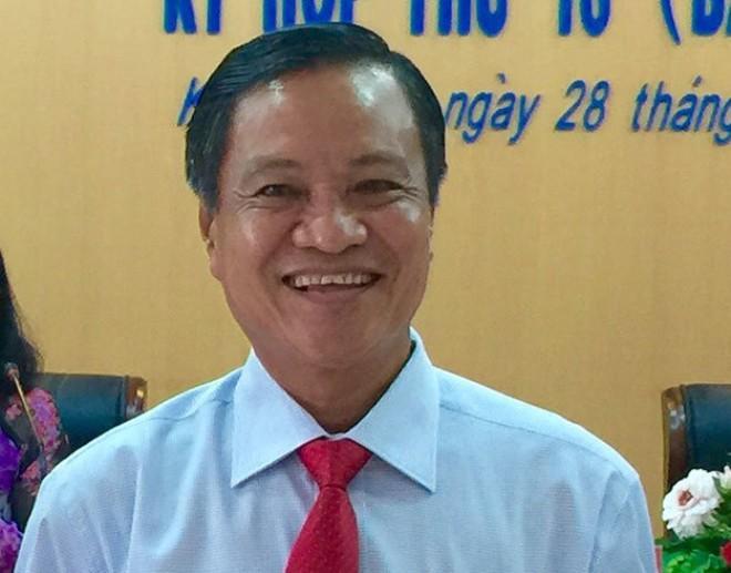 Ông Phạm Vũ Hồng - tân chủ tịchUBND tỉnh Kiên Giang - Ảnh: N.Triều