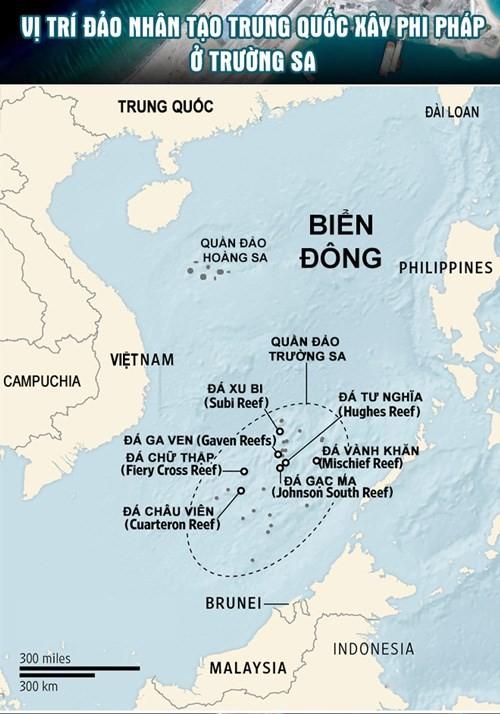 """Trung Quốc đã chuẩn bị sẵn cả biên đội tàu chiến """"kèm"""" tàu chiến Mỹ ở Đá Xu Bi ảnh 2"""