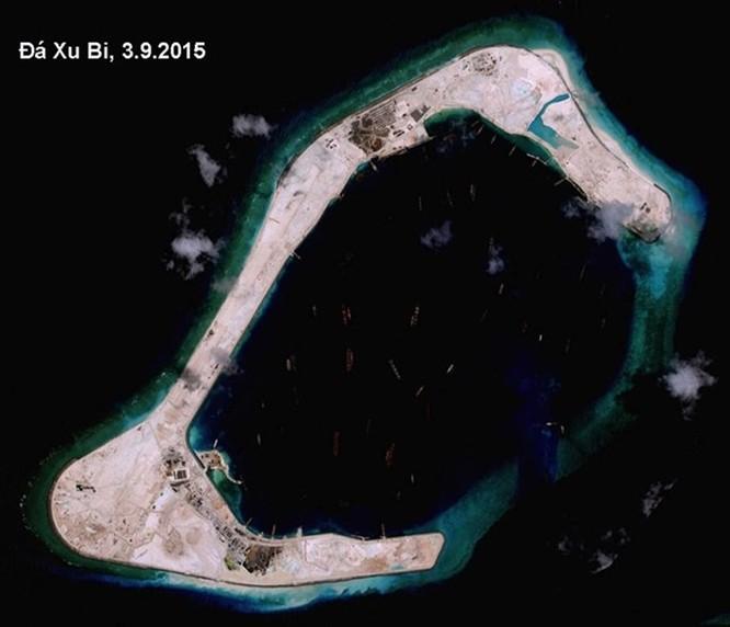 """Trung Quốc đã chuẩn bị sẵn cả biên đội tàu chiến """"kèm"""" tàu chiến Mỹ ở Đá Xu Bi ảnh 3"""