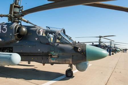 Nga trang bị tên lửa chống tăng không thể đánh chặn Vikhr-1 cho trực thăng Ka-52 ảnh 4