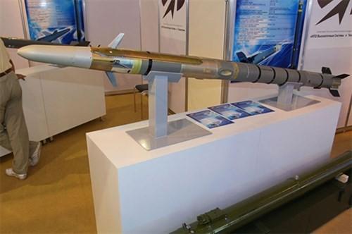 Nga trang bị tên lửa chống tăng không thể đánh chặn Vikhr-1 cho trực thăng Ka-52 ảnh 1
