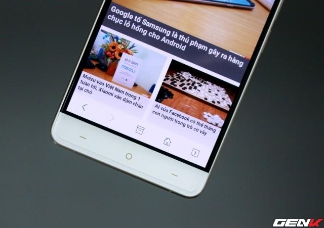 Cận cảnh OnePlus X vàng hồng đẹp như tranh vẽ đầu tiên trên thế giới ảnh 12