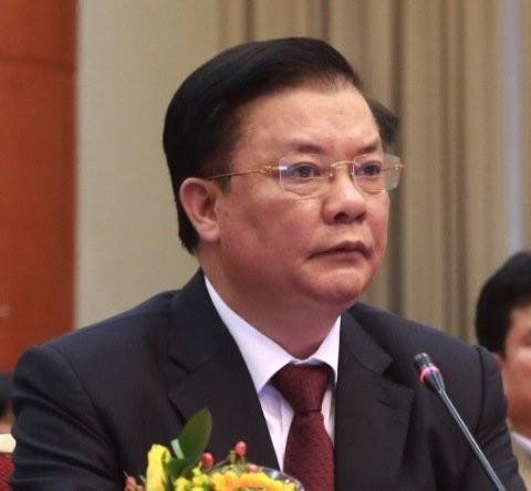 Bộ trưởng Bộ Tài chín Đinh Tiến Dũng