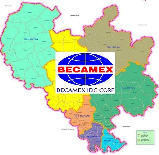 """Becamex IDC """"cắm"""" ngân hàng gần 5 km2 đất Bình Dương ảnh 1"""