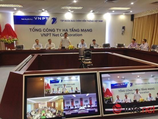 Bộ trưởng TTT&TT Nguyễn Bắc Son thăm 3 Tổng Công ty của VNPT ảnh 1