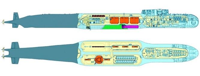 Rò rỉ hình ảnh 2 loại tàu ngầm hạt nhân mới nhất của Nga ảnh 2
