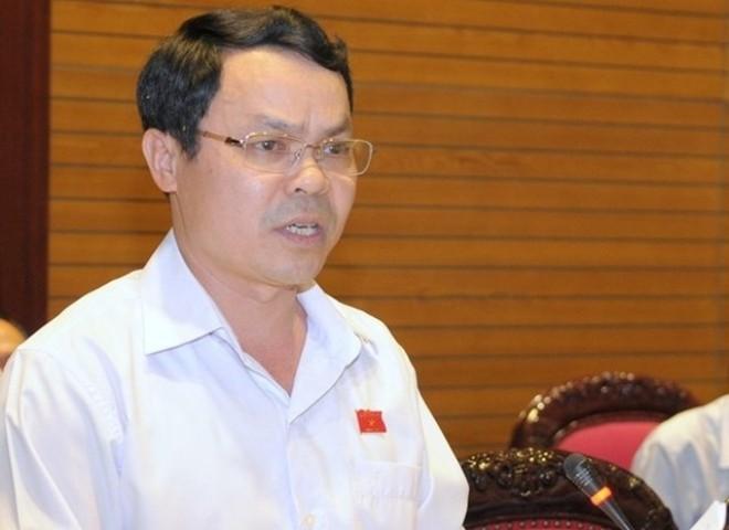 ĐBQH Nguyễn Tiến Sinh, Phó trưởng Đoàn chuyên trách Đoàn ĐBQH tỉnh Hòa Bình (Nguồn ảnh: Quốc hội)