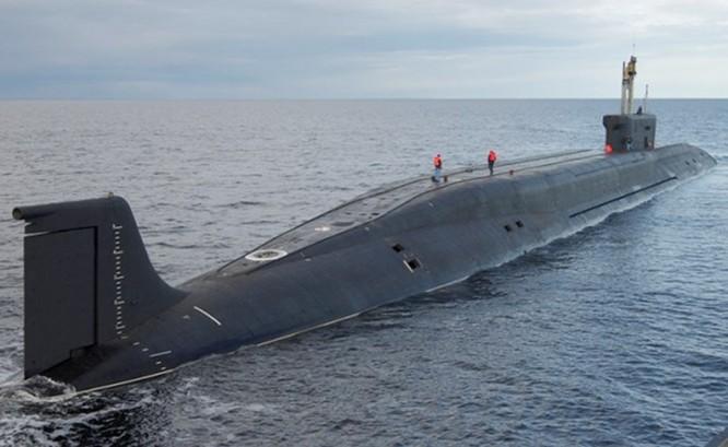 Tàu ngầm hạt nhân Nga bắn thử thành công 2 tên lửa Bulava ảnh 1
