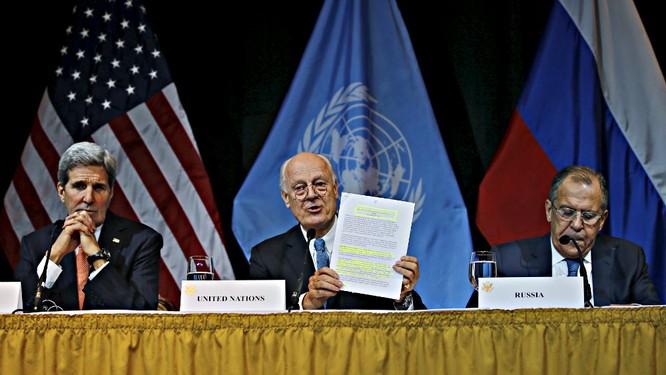 Syria sẽ có chính phủ chuyển tiếp trong 6 tháng tới ảnh 1