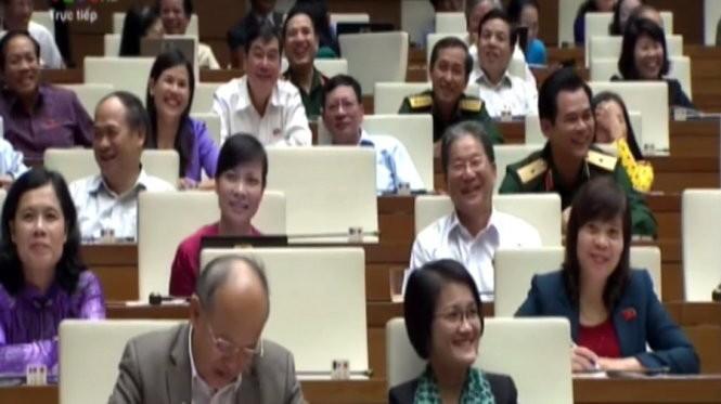 Những nụ cười chua chát ở Quốc hội ảnh 1