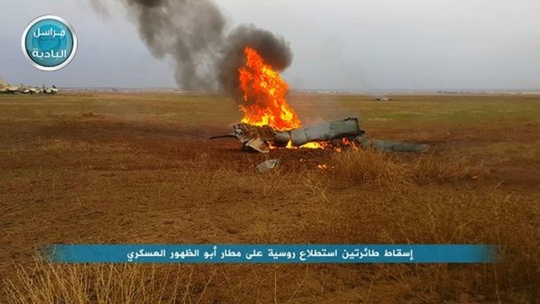 """Hai máy bay do thám Nga """"bị bắn rơi"""" tại Syria ảnh 1"""