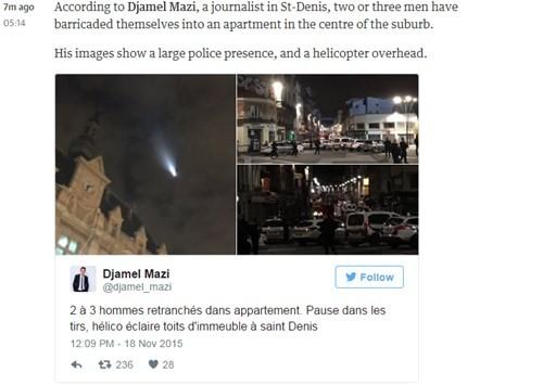 Đấu súng dữ dội ở ngoại ô Paris, tiêu diệt 3 nghi phạm khủng bố ảnh 9