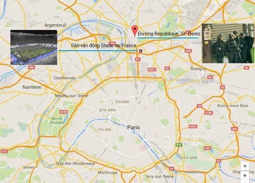 Đấu súng dữ dội ở ngoại ô Paris, tiêu diệt 3 nghi phạm khủng bố ảnh 3