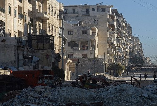 Phải mất một khoảng thời gian dài mới có thể khôi phục đống hoang tàn Aleppo lại như trước thời chiến.
