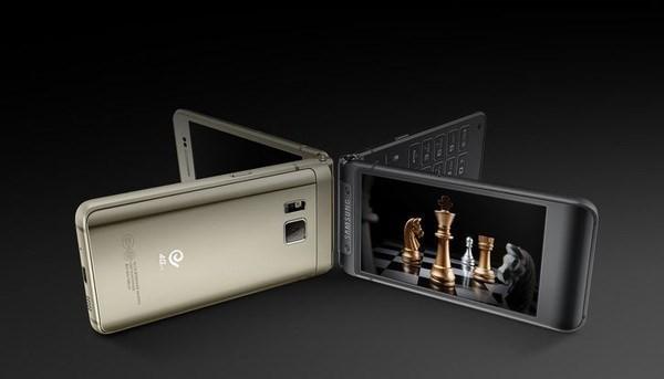 Smartphone nắp gập sang chảnh của Samsung có giá tới 35,5 triệu đồng ảnh 1