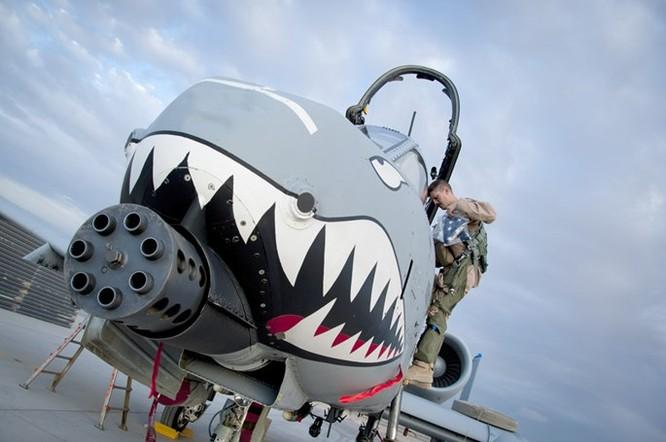 Uy lực khẩu pháo 7 nòng trên máy bay A-10 Thunderbolt ảnh 1