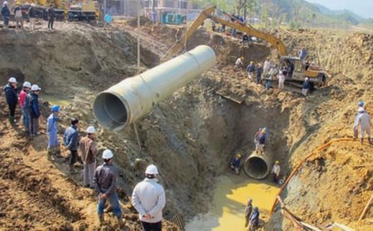 Đề nghị truy tố 9 bị can trong vụ án vỡ ống nước sông Đà ảnh 1