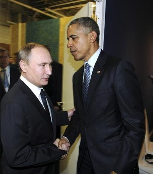 Tiết lộ nội dung cuộc họp Obama - Putin tại Paris ảnh 1