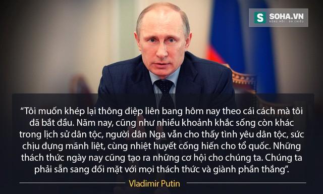 """Những câu nói """"để đời"""" của ông Putin trong Thông điệp Liên bang ảnh 12"""