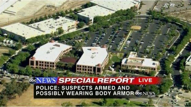 Tiêu diệt nhóm xả súng ở Mỹ làm hơn 20 người thương vong ảnh 1