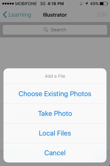 Gom tài khoản đám mây về một mối trên iOS ảnh 1