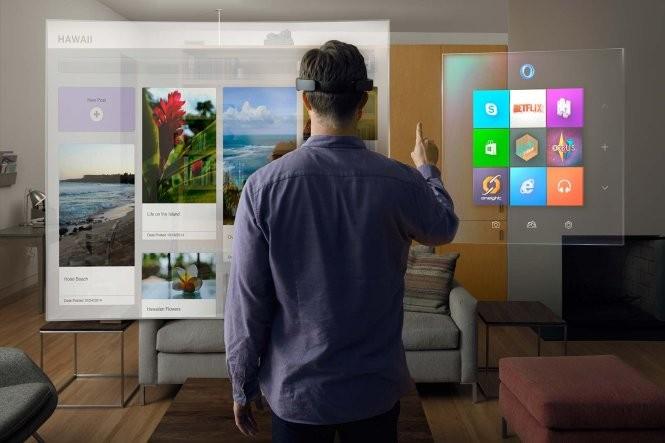 Microsoft HoloLens - Ảnh: Microsoft