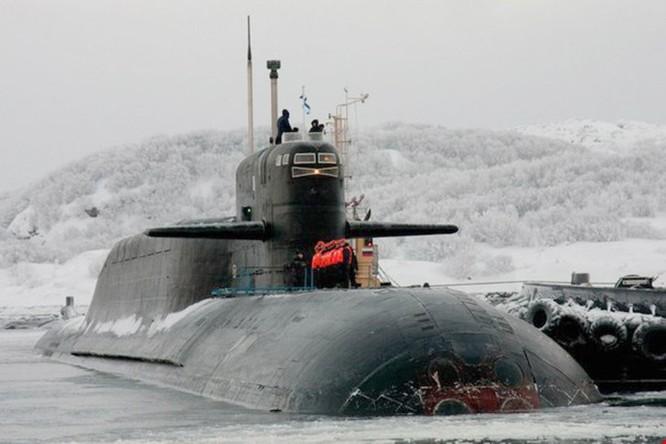 Clip Tàu ngầm Nga phóng thành công tên lửa liên lục địa Sineva ảnh 1