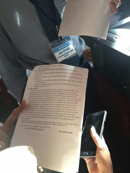 Eximbank có Chủ tịch HĐQT mới: Cổ đông nghi ngờ kết quả kiểm phiếu ảnh 1