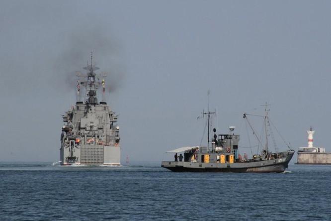 Căn cứ hải quân nắm vận mệnh Nga ở Syria ảnh 1