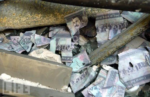Ai cướp số tiền 1 tỉ USD của Saddam Hussein? ảnh 1