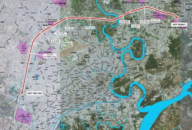Gần 20.000 tỉ xây dựng đường trên cao TP.HCM đi miền Tây ảnh 1