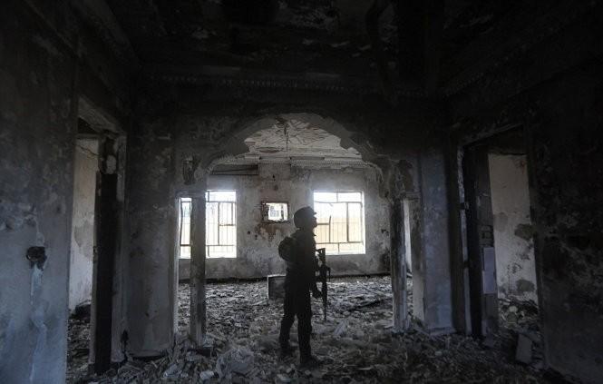Hình ảnh Ramadi sau khi được giải phóng khỏi IS ảnh 1