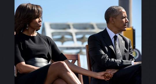 Những khoảnh khắc ấn tượng của ông Obama ảnh 12