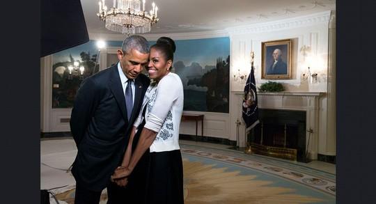 Những khoảnh khắc ấn tượng của ông Obama ảnh 10