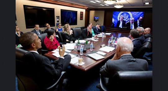 Những khoảnh khắc ấn tượng của ông Obama ảnh 9