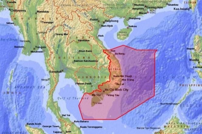 """Trung Quốc tiếp tục """"bay ma"""", phá luật, làm liều ở Biển Đông? ảnh 1"""