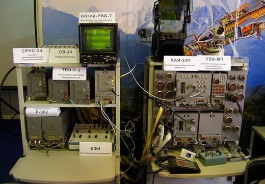 Hệ thống SVP-24 được lắp đặt trên các máy bay chiến đấu của Nga. Ảnh: RI