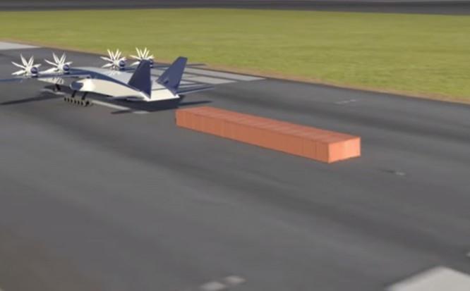 Boeing sáng chế tàu bay chở container ảnh 1