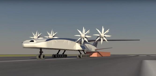 Boeing sáng chế tàu bay chở container ảnh 2