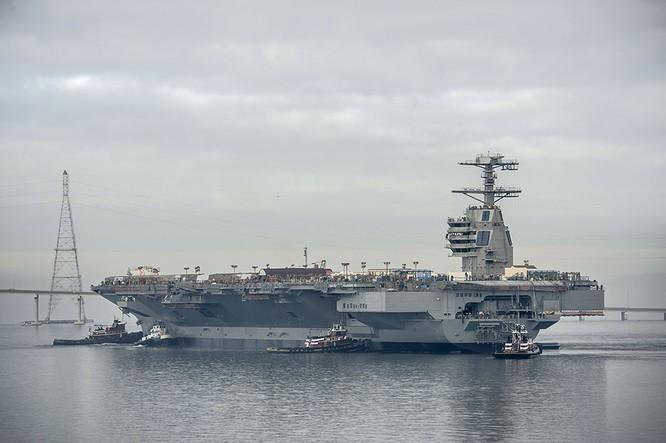 Video quá trình chế tạo siêu tàu sân bay lớp Gerald R. Ford ảnh 2