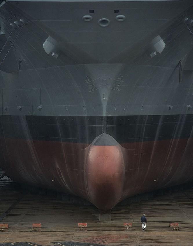 Video quá trình chế tạo siêu tàu sân bay lớp Gerald R. Ford ảnh 3