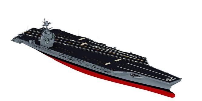 Video quá trình chế tạo siêu tàu sân bay lớp Gerald R. Ford ảnh 5