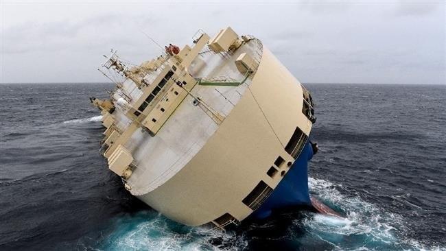 Video tàu biển gặp tai nạn đang đe dọa môi trường bờ biển Pháp ảnh 1