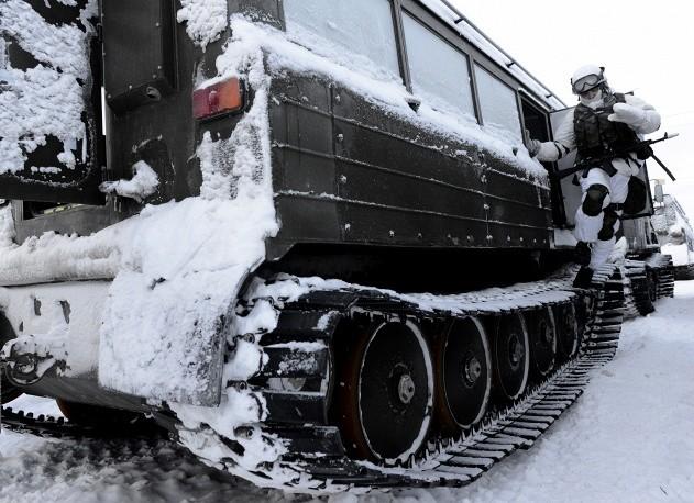 Clip tuần lộc và chó kéo xe tham gia huấn luyện tác chiến của Nga ảnh 5